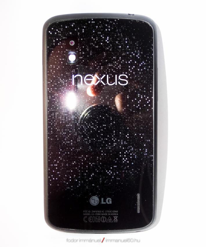 Eladó Nexus 4, független, fekete, 16GB