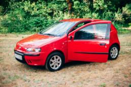 Fiat Punto II 1.2 16V HLX bal első ajtó