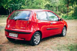Fiat Punto II 1.2 16V HLX jobb hátsó sárvédő