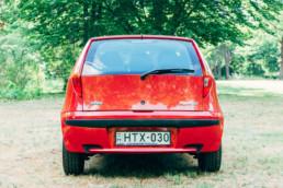Fiat Punto II 1.2 16V HLX rendszámtábla világítás