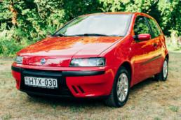 Fiat Punto II 1.2 16V HLX fényszóró polírozás